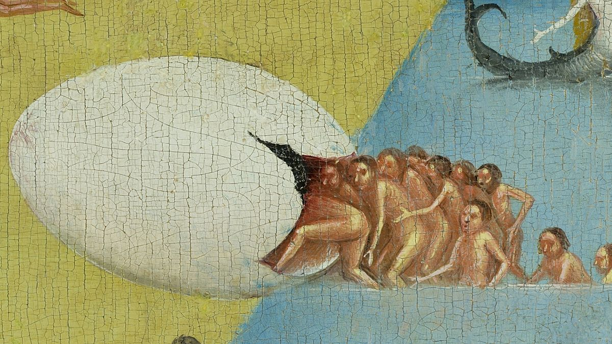 Detail from  The Garden of Earthly Delights  by Hieronymus Bosch, central panel