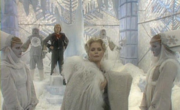 Still from Faerie Tale Theatre adaptation of  The Snow Queen