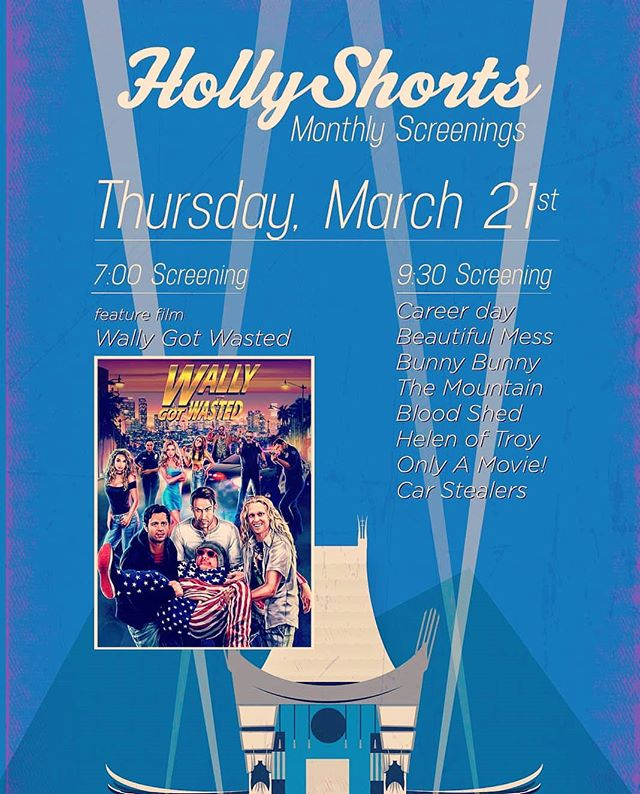Career Day is heading back out West!  Come check it out and several other amazing shorts on Thursday March 21st at #hollyshorts before heading back East to #annapolisfilmfestival for the weekend!