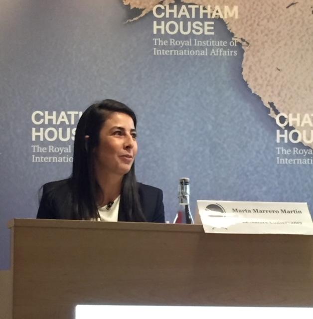Marta Marrero Martín   Oceans Governance Director, Global Oceans Team, The Nature Conservancy