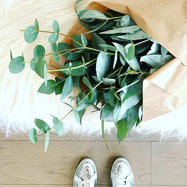 Kicking off the week with fresh 🌿and sparkly 👟.. wishing you all a happy Monday x ✨ (cosy Icelandic sheepskin rug available to buy in our new online shop- link in bio) . . #mondaymood #eucalyptuslove #smallpleasuresoflife #joy #momentofmine #interiorstyling #homestylinginspo #homewareshop #newbusiness #onlineshop #cornerofmyhome #cosyhome #myhyggehome #autumnvibes #sheepskinrug #icelandicsheepskin