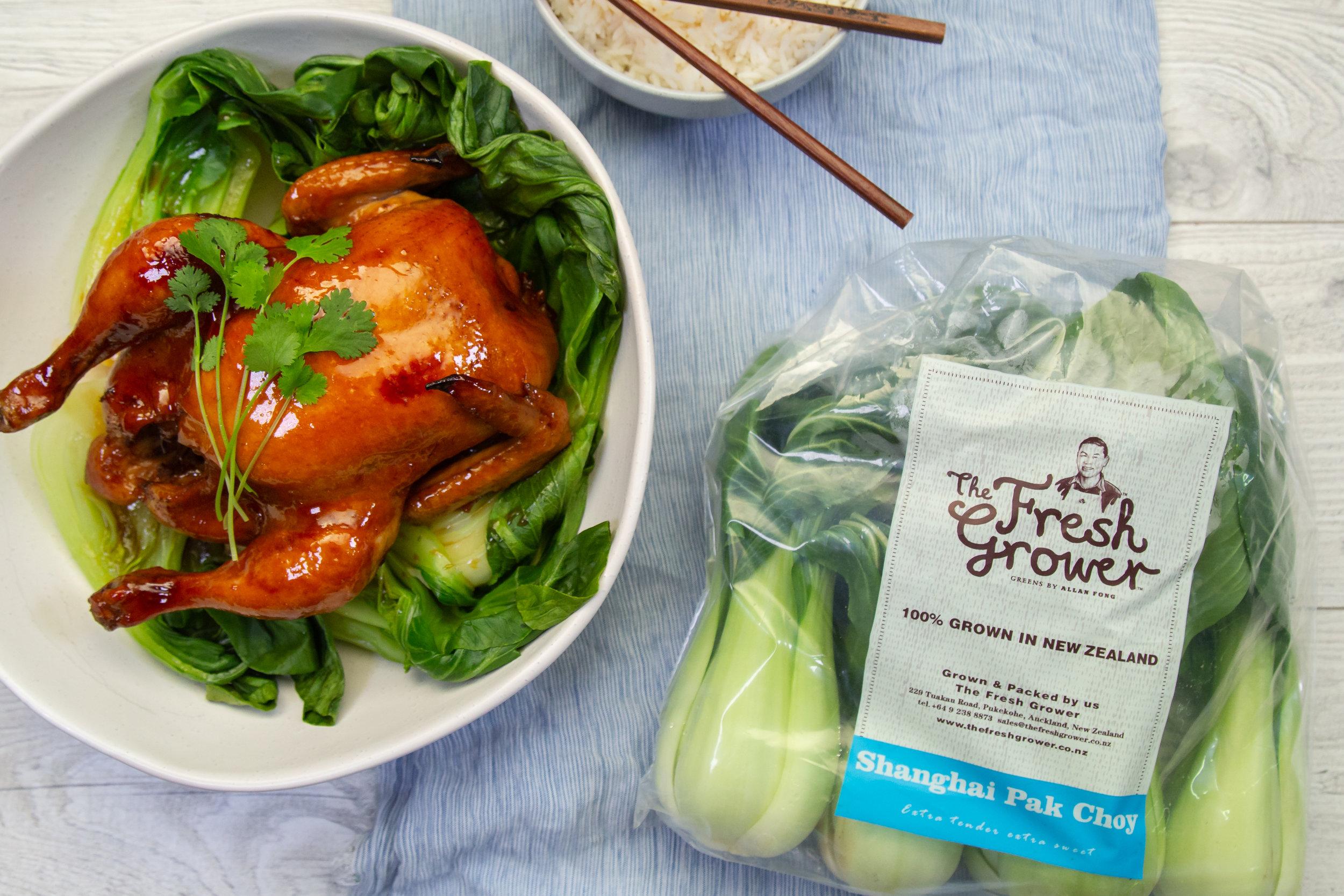 Sticky Asian Roast Chicken