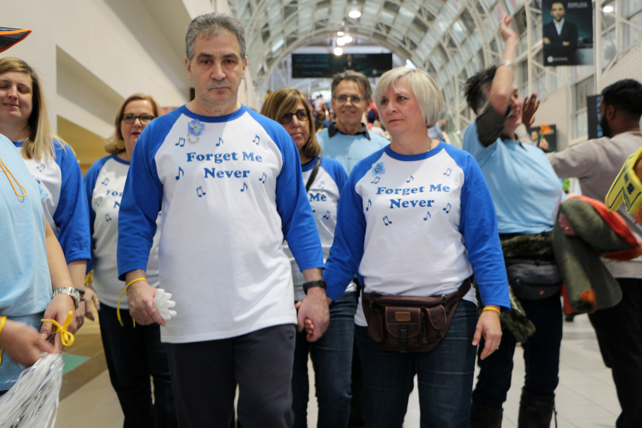 Susan & Sheldon Abramovitch at the 2017 Walk for Memories in Toronto, Canada.