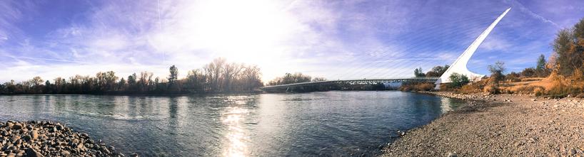 Sundial Bridge, taken with iPhone 5s