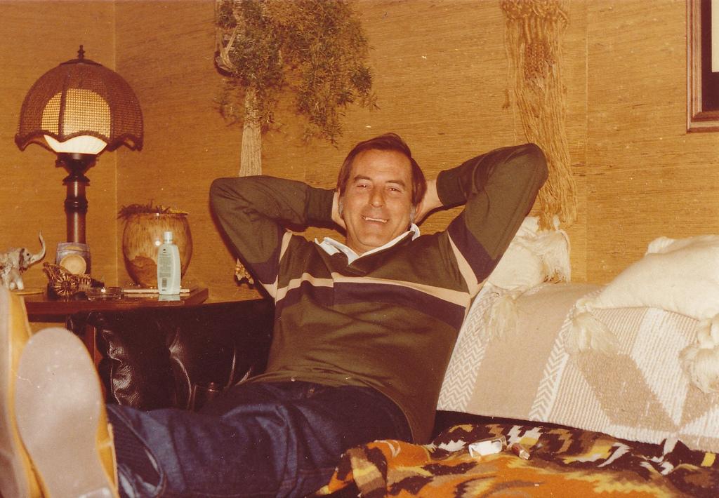 My step-dad, Mahlon; photographer unknown.