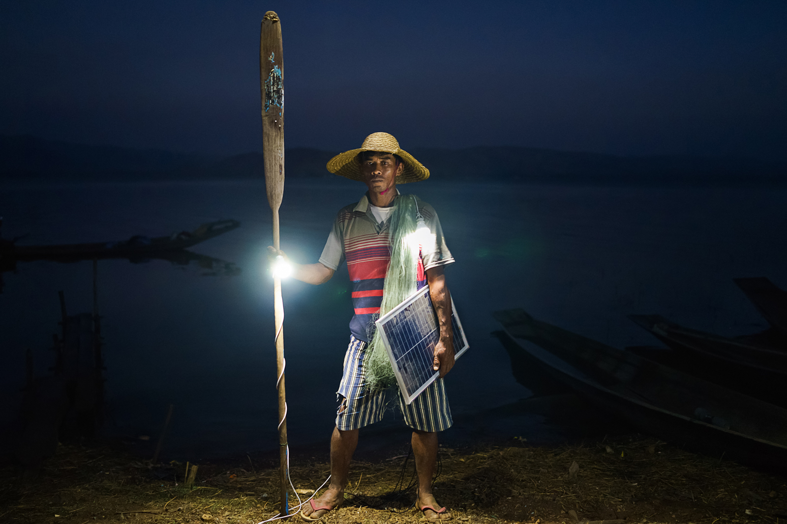Rubén Salgado Escudero, Solar Portraits - Myanmar