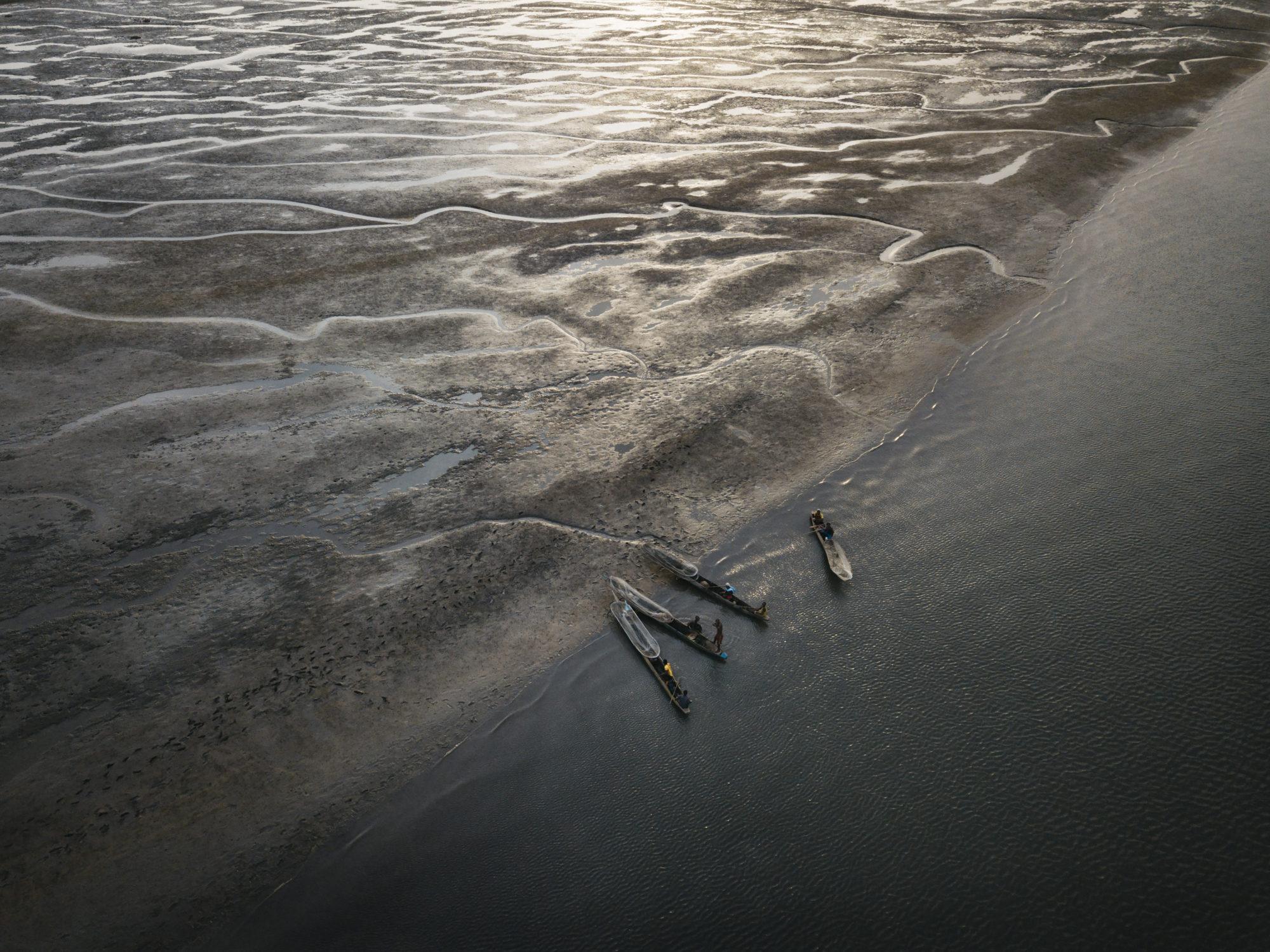 Greg Funnell,'Oyster Harvesting, Sherbro River Delta 2' (2018).