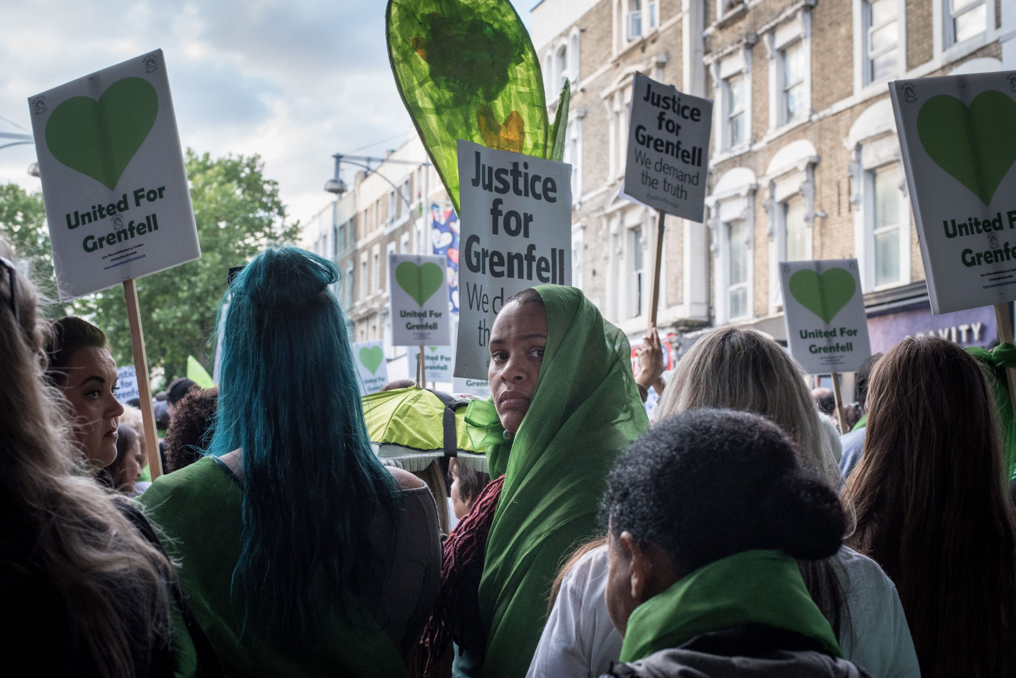 Debbie Humphry, '14th June 2018, Remebering Grenfell 1' (2018)
