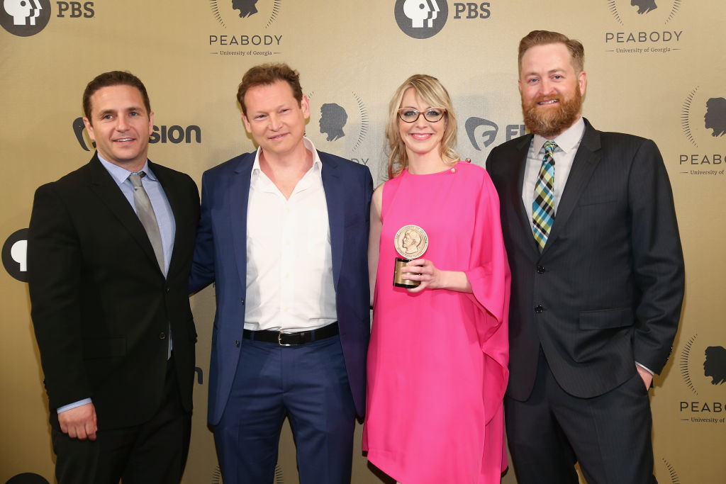 Red Carpet at Peabody Awards