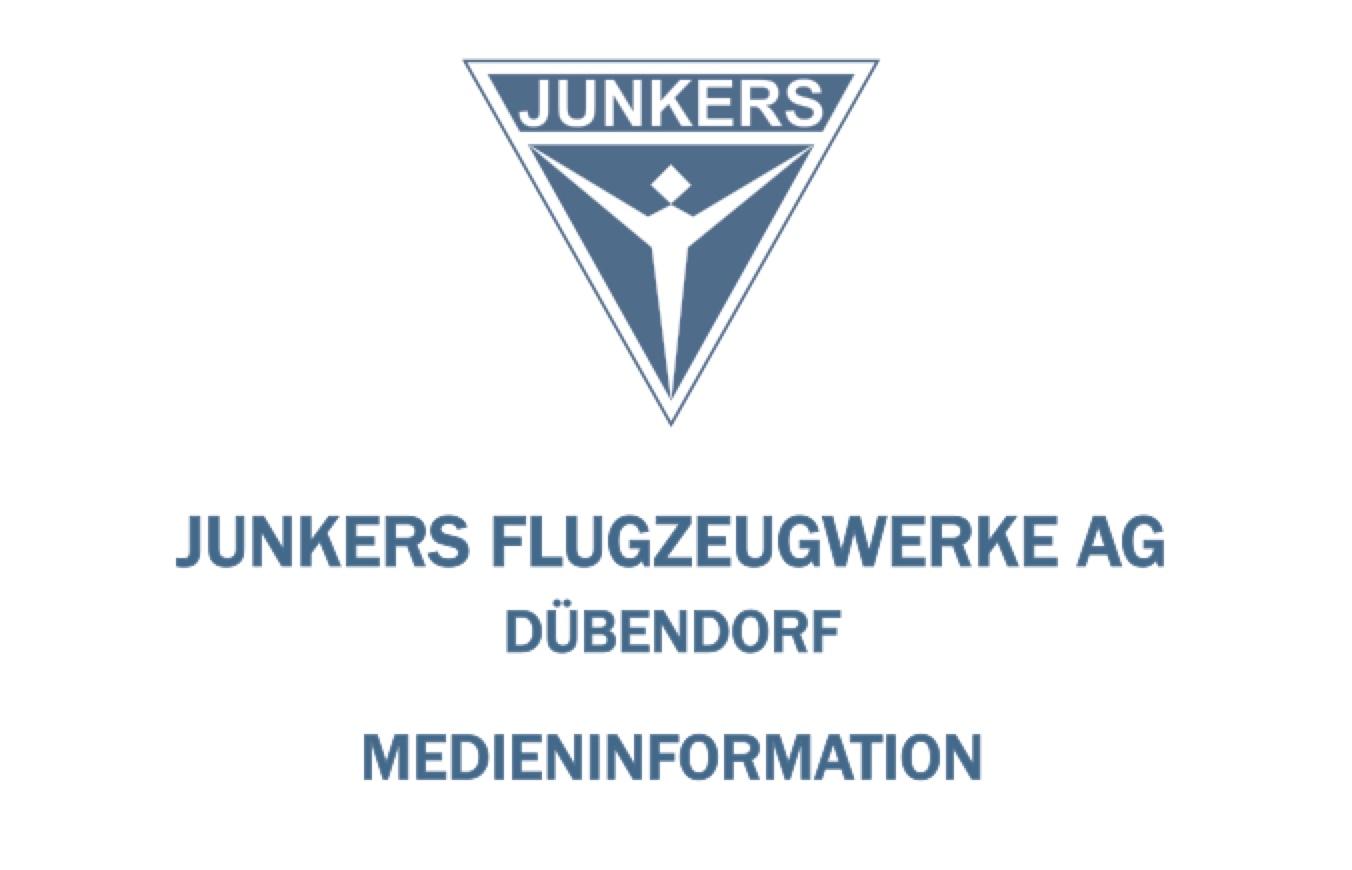 Medienmitteilung 10. April 2019  Die JUNKERS F 13 wird hundert Jahre alt