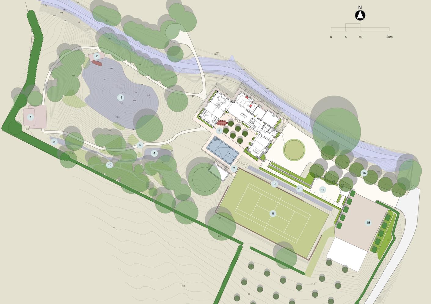 Arle Manor Garden Design