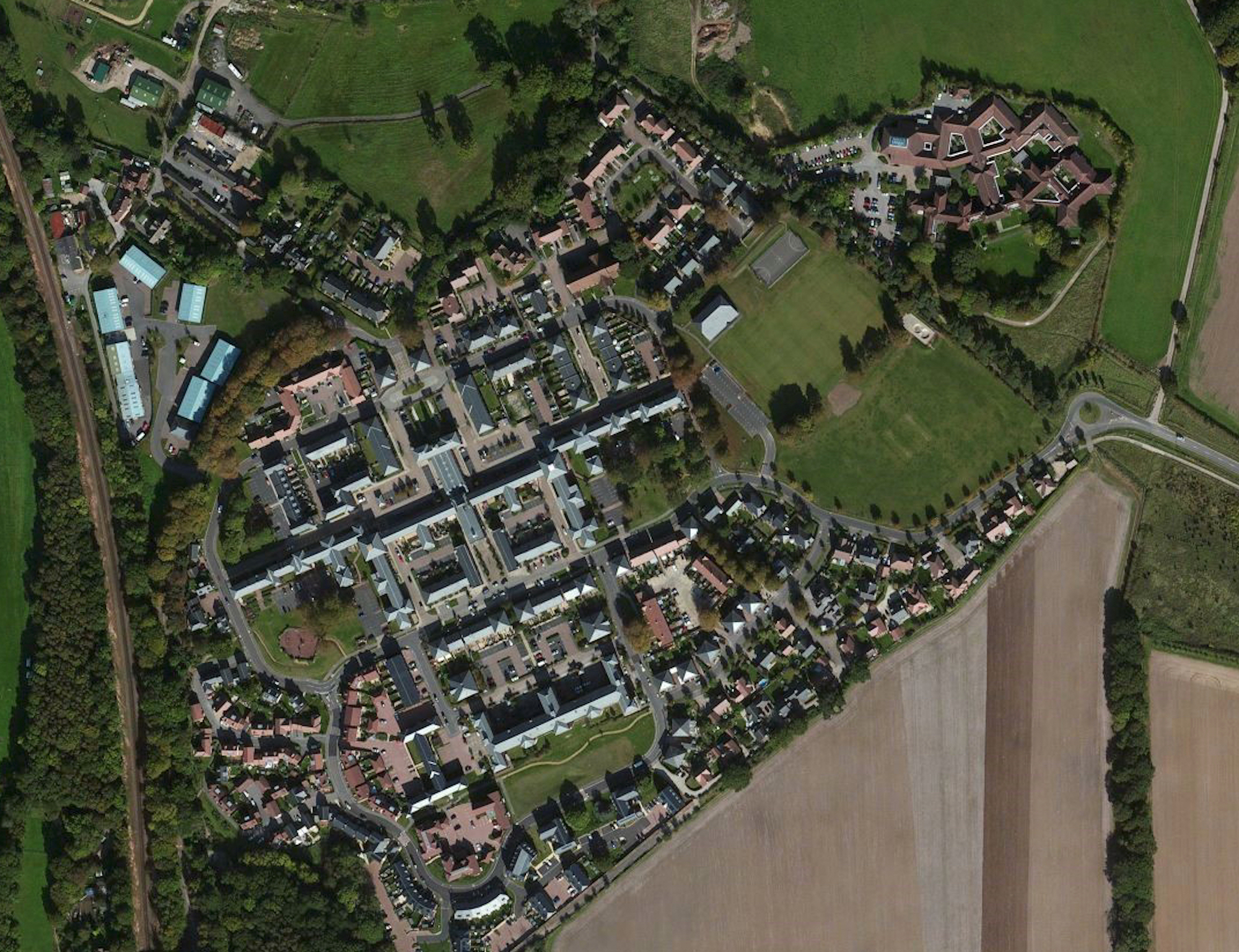 Knowle Village Aerial Photo.jpg