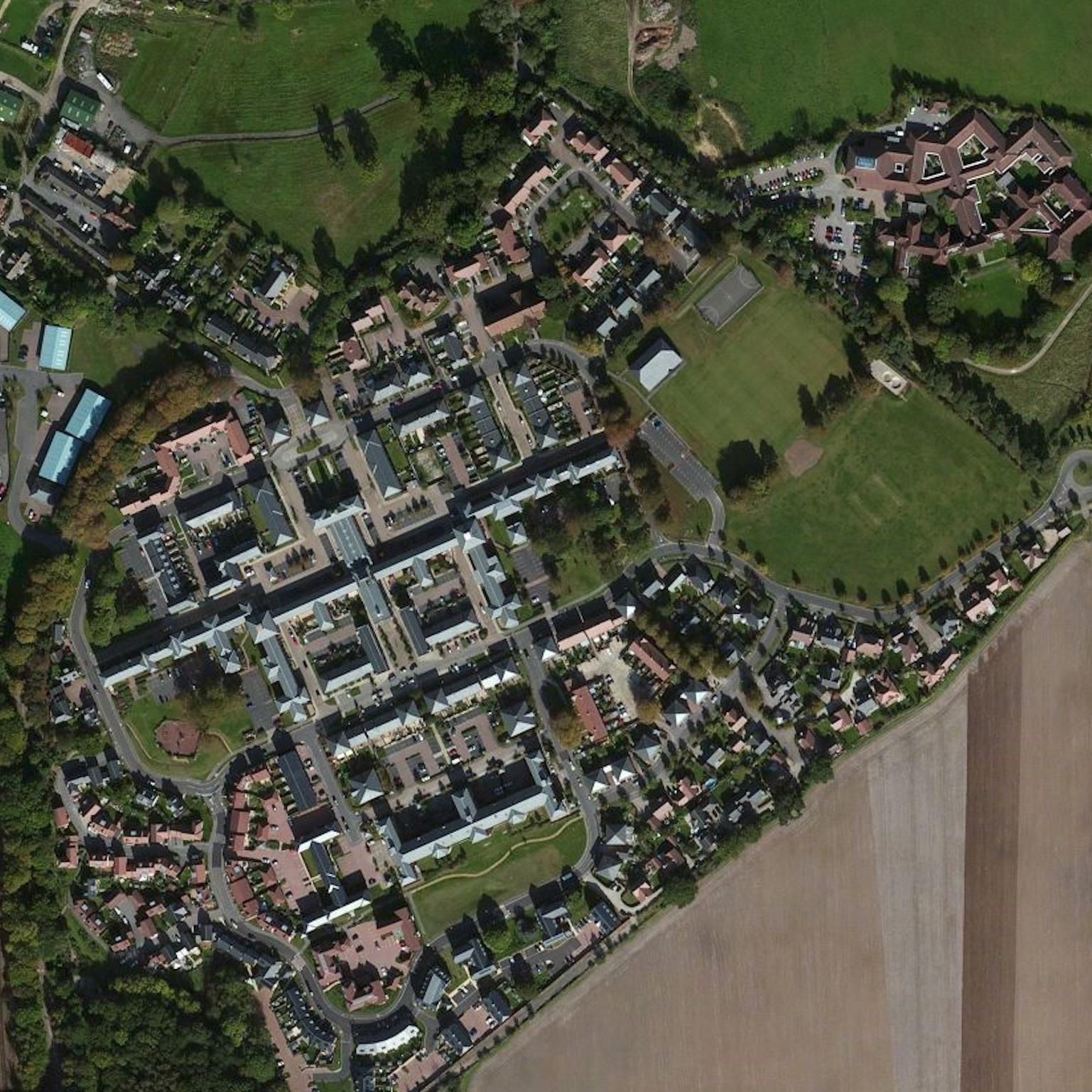 Knowle Village Aerial Photo.jpg