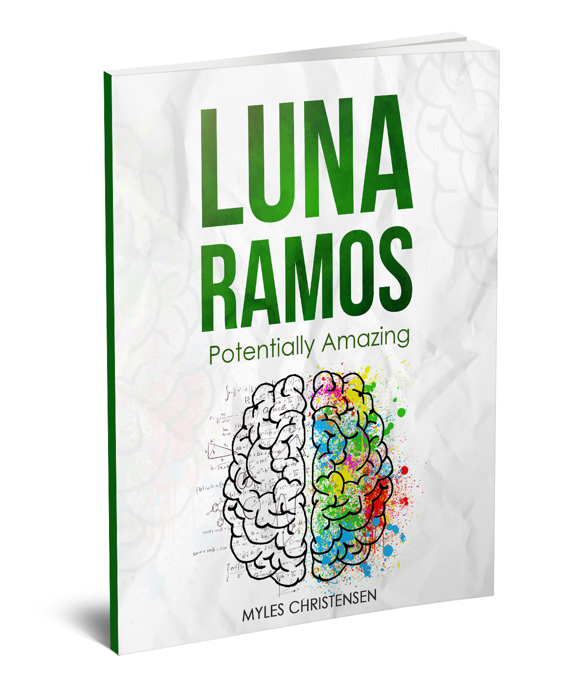 Texas Award - LUNA RAMOS: POTENTIALLY AMAZING by Myles ChristensenLuna and Arush work together to create an educational video about potential energy. However, making the video educational is only half the task: they need to make learning magical.