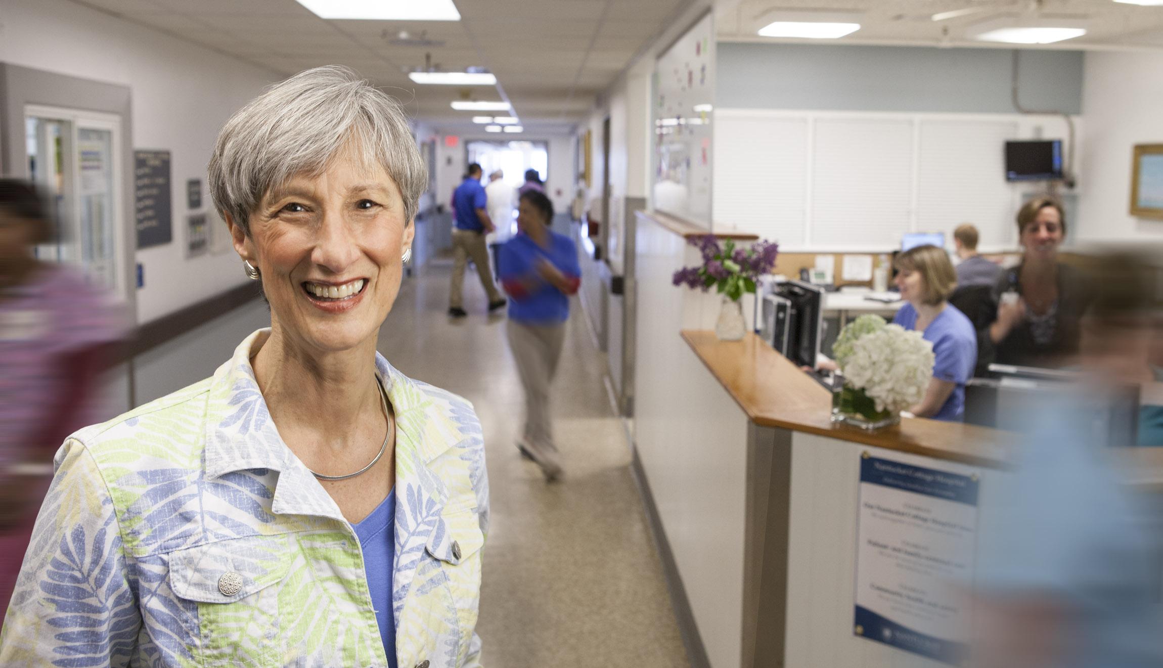 Nantucket Cottage Hospital CEO Margot Hartman