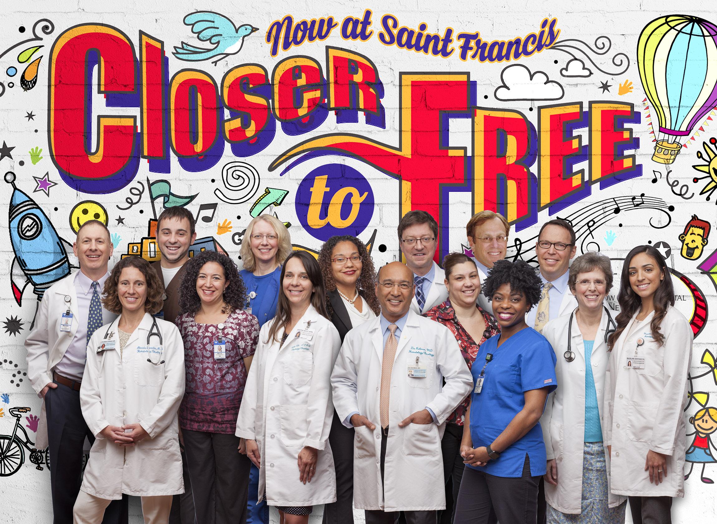 Smilow & St Francis Cancer Doctors, Nurses & Staff - Marketing