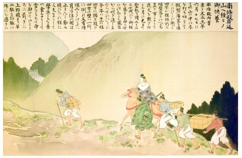 Nanjo Tokomitsu journey to visit the Buddha