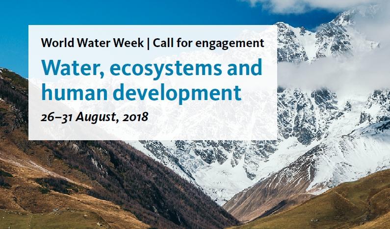 © world water week