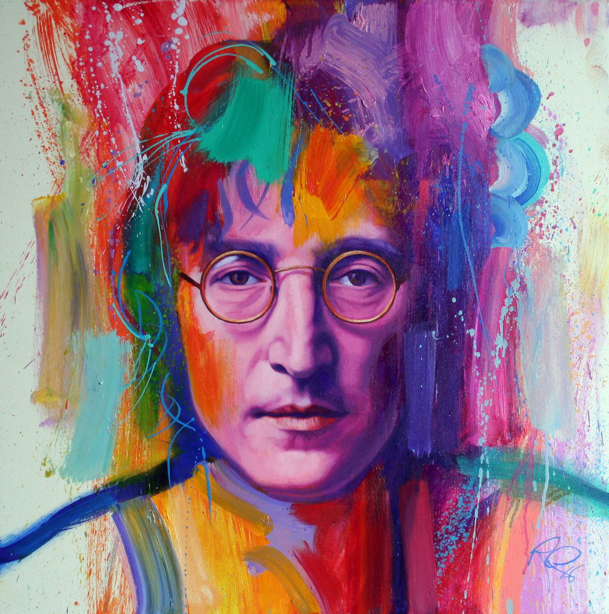 'John'    Original Work now Sold.  Available as a Limited Edition Print on Canvas. Hand signed and numbered by the artist.