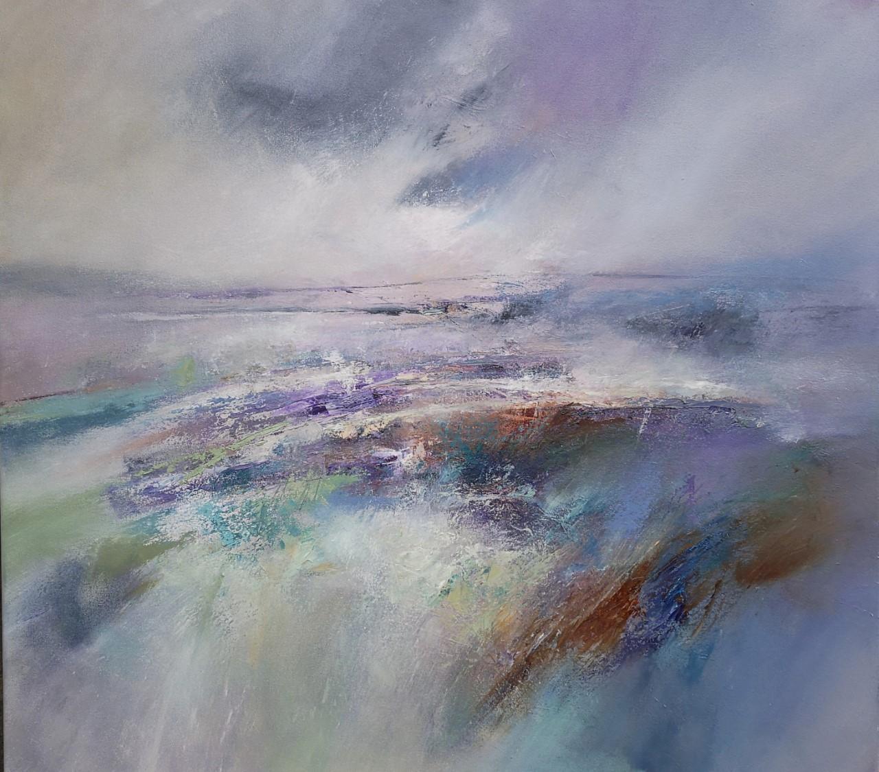 'Bowden Moor' ,    Oil on Canvas