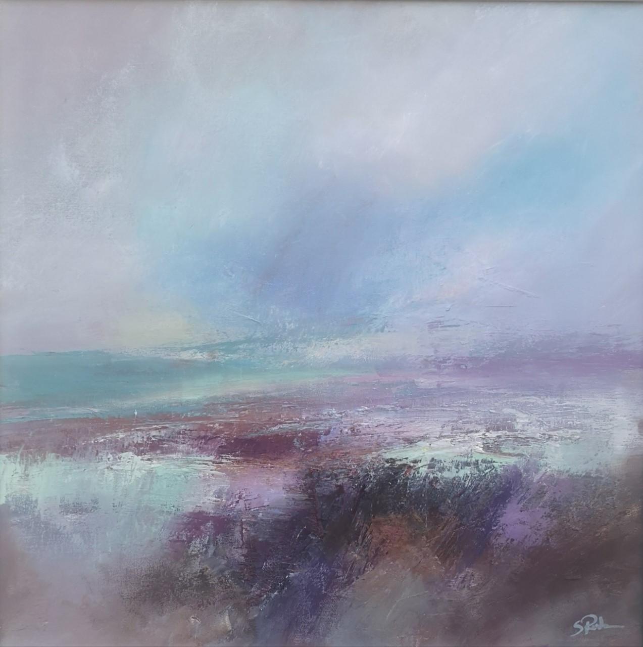 'Landscape 1',    Oil on Board, 50 x 50 cm