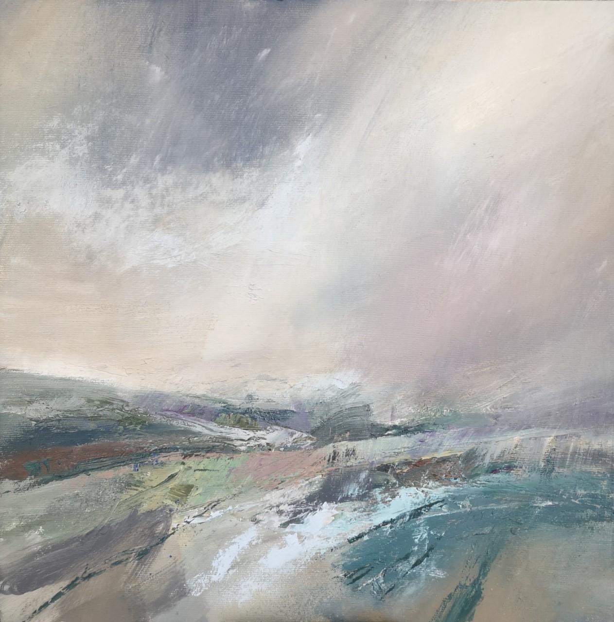'Jinny Lane' ,    Oil on Board, 30 x 30 cm