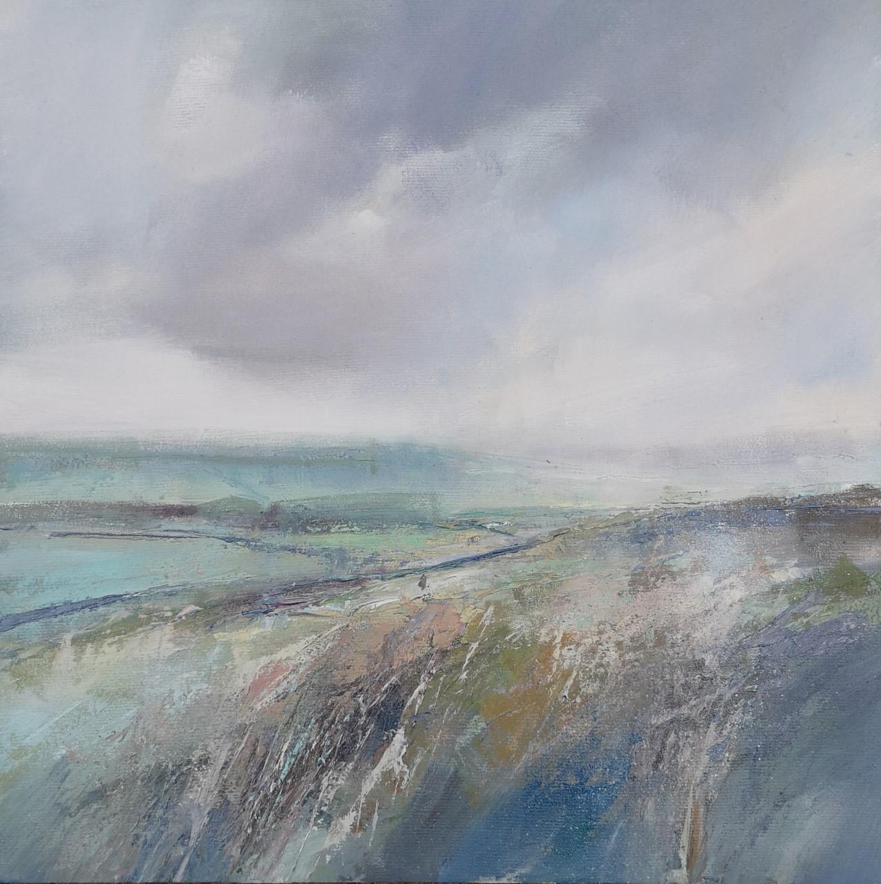 'Thorny Holme'   Oil on Board, 30 x 30 cm