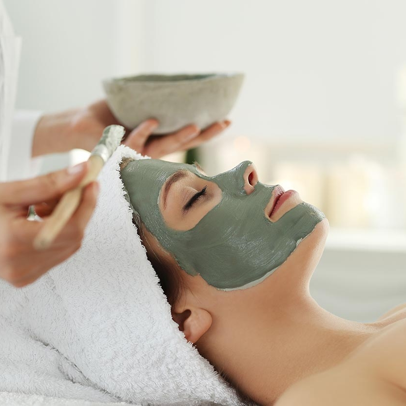 Facial - Fall in love with your skin and enjoy one of our signature Facials. Get the glow back, cleans the pores, or relax with a 30 Minute Refresher. With 8 treatments to choose from, your skin with thank you.