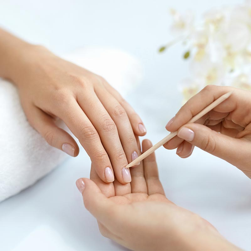 Nail Services - Let Bodhi take care of your hands and feet. From Lavender infused exfoliating scrubs and extended hand/foot massages, paraffin dips, an array of polishes to choose from and soothing aromatherapy infused hot towels to finish.