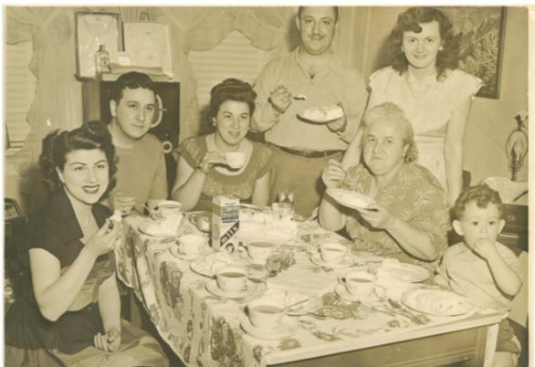 The DeMarco Family circa 1952