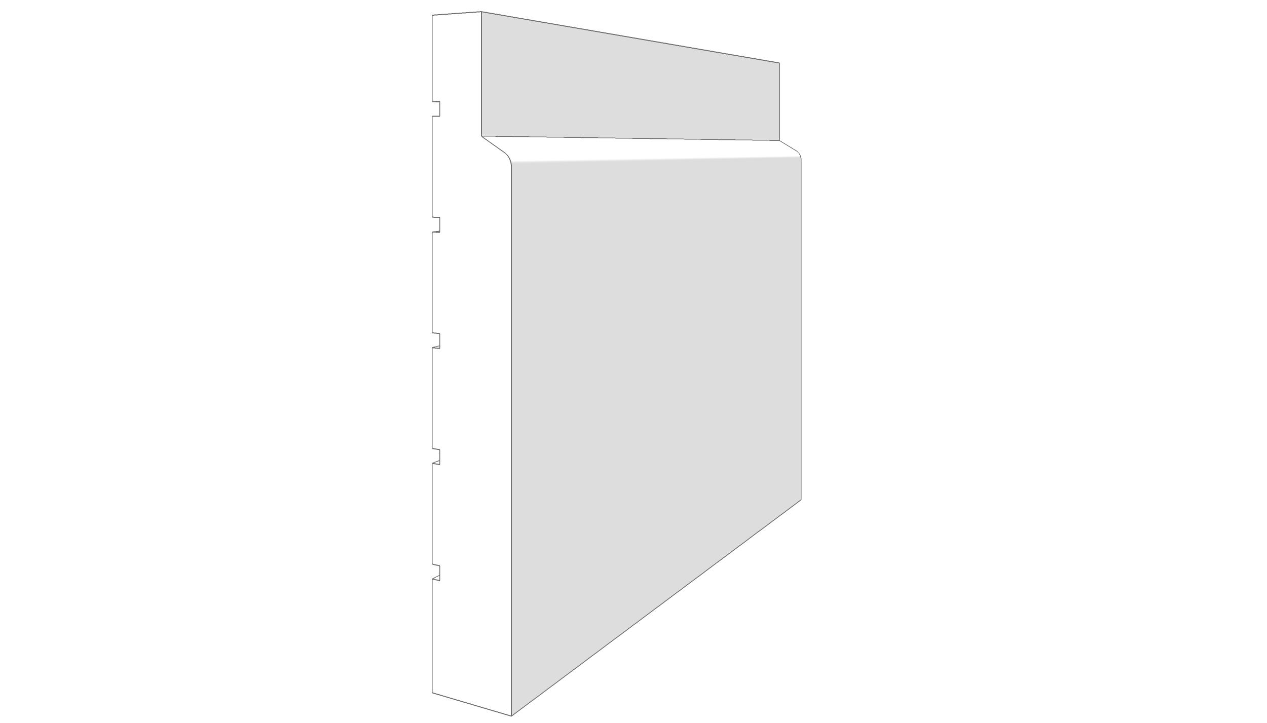 """EM2100 - 5.25""""x.745"""""""