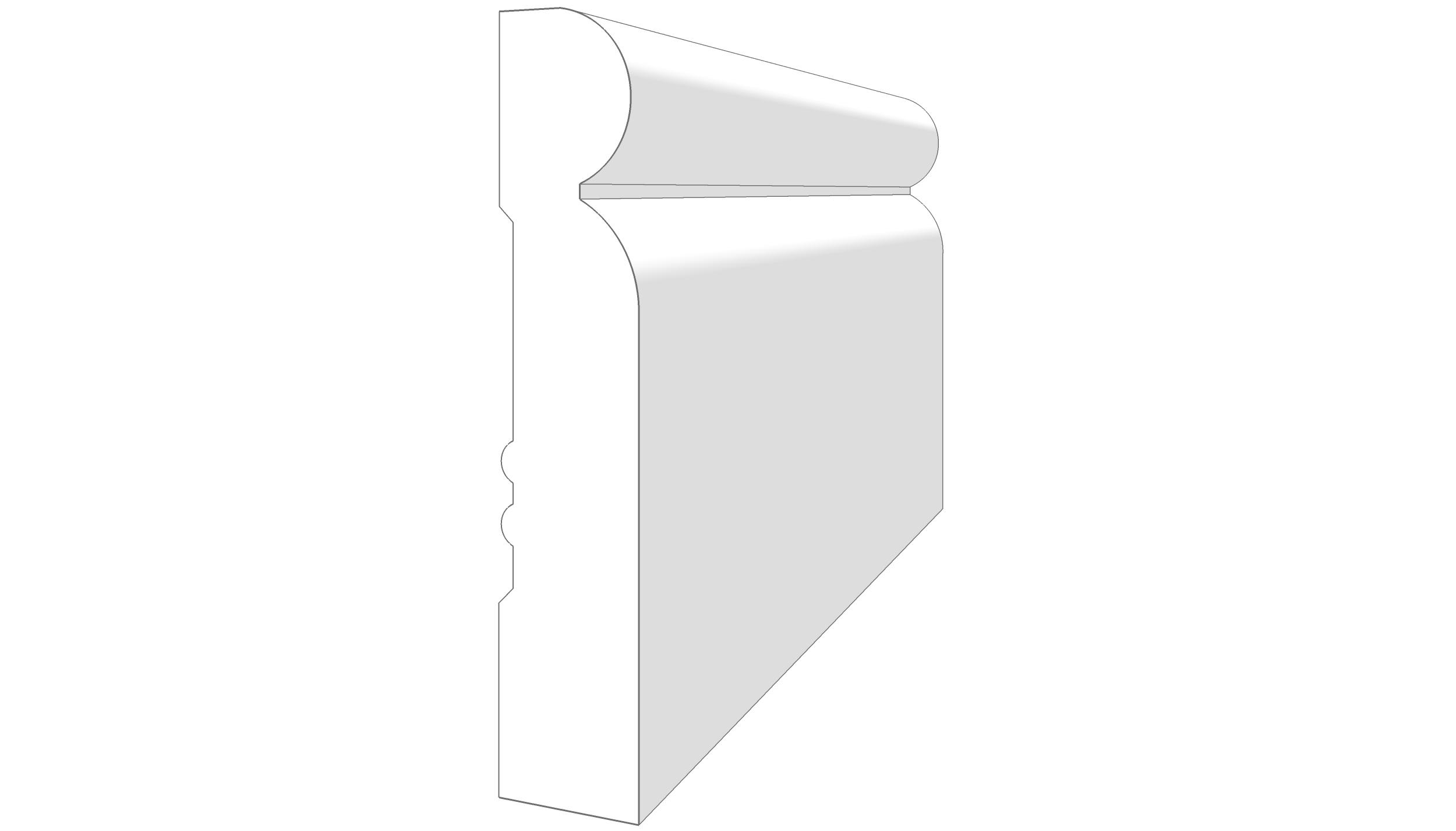 """EM2304 - 3.5""""x.687"""""""