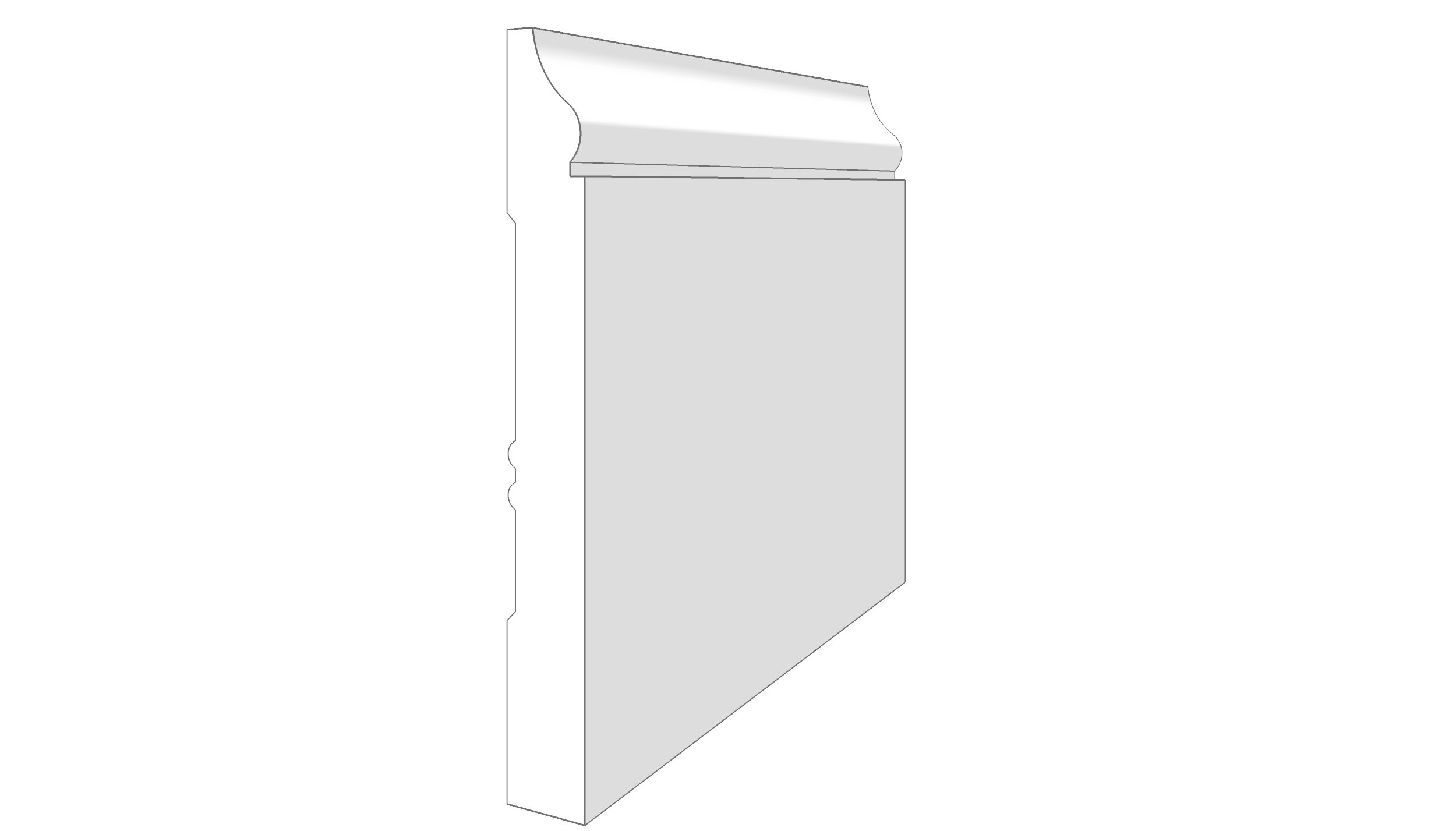 """EM2501 - 5.25""""x.625"""""""