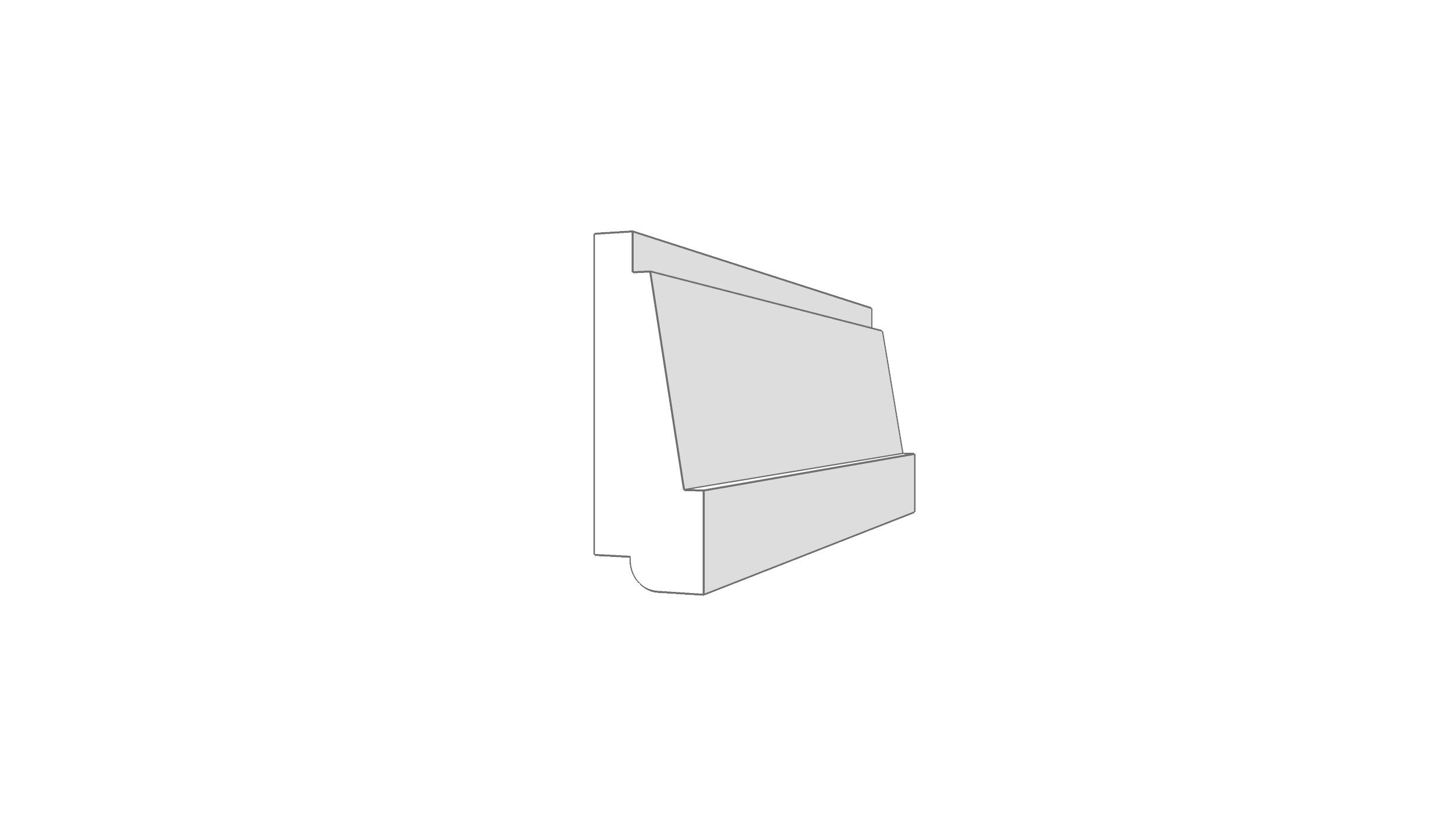 """EM7200 - 2.25""""x.75"""""""