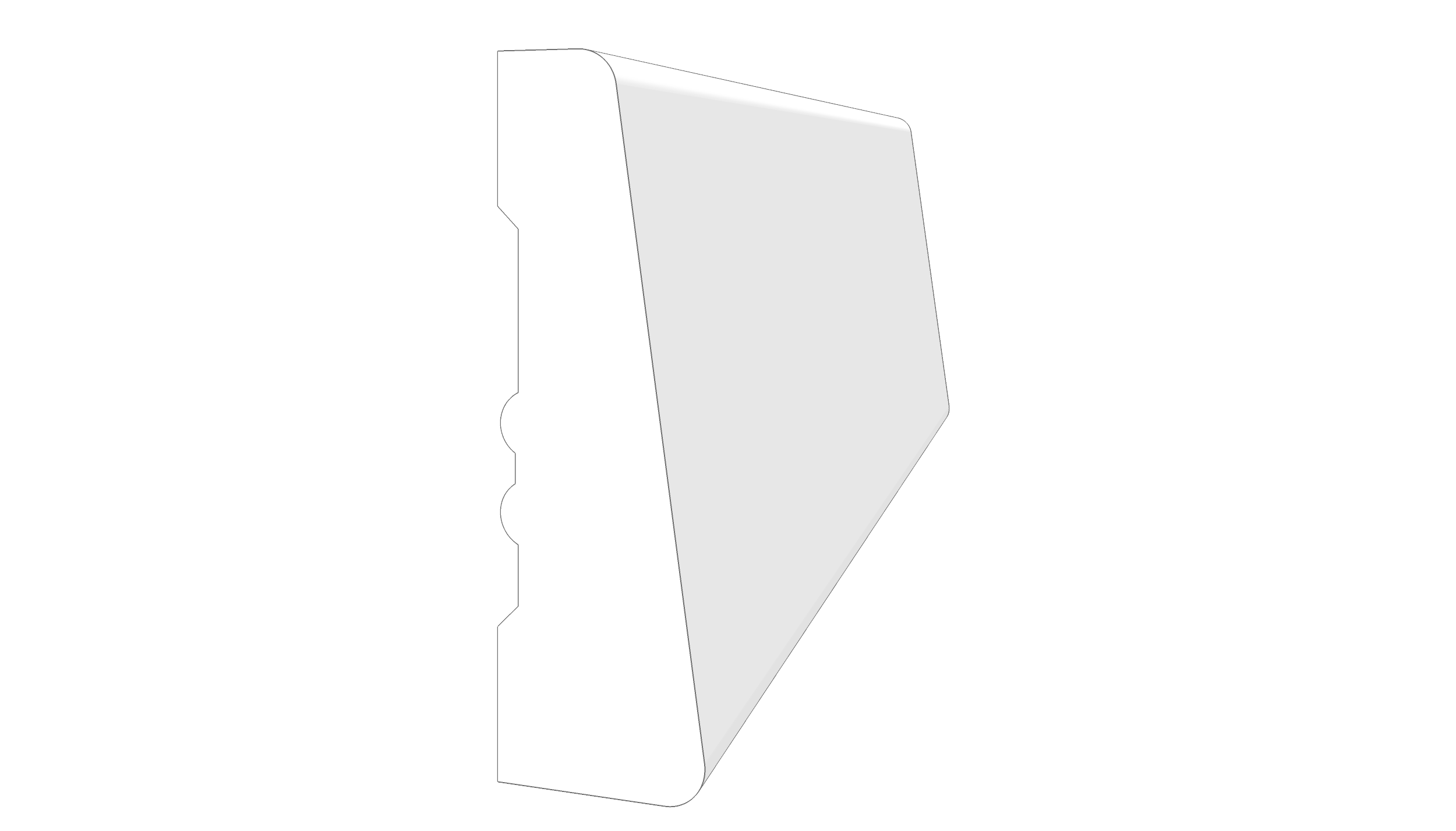 """EM1201 - 2.25""""x.667"""""""