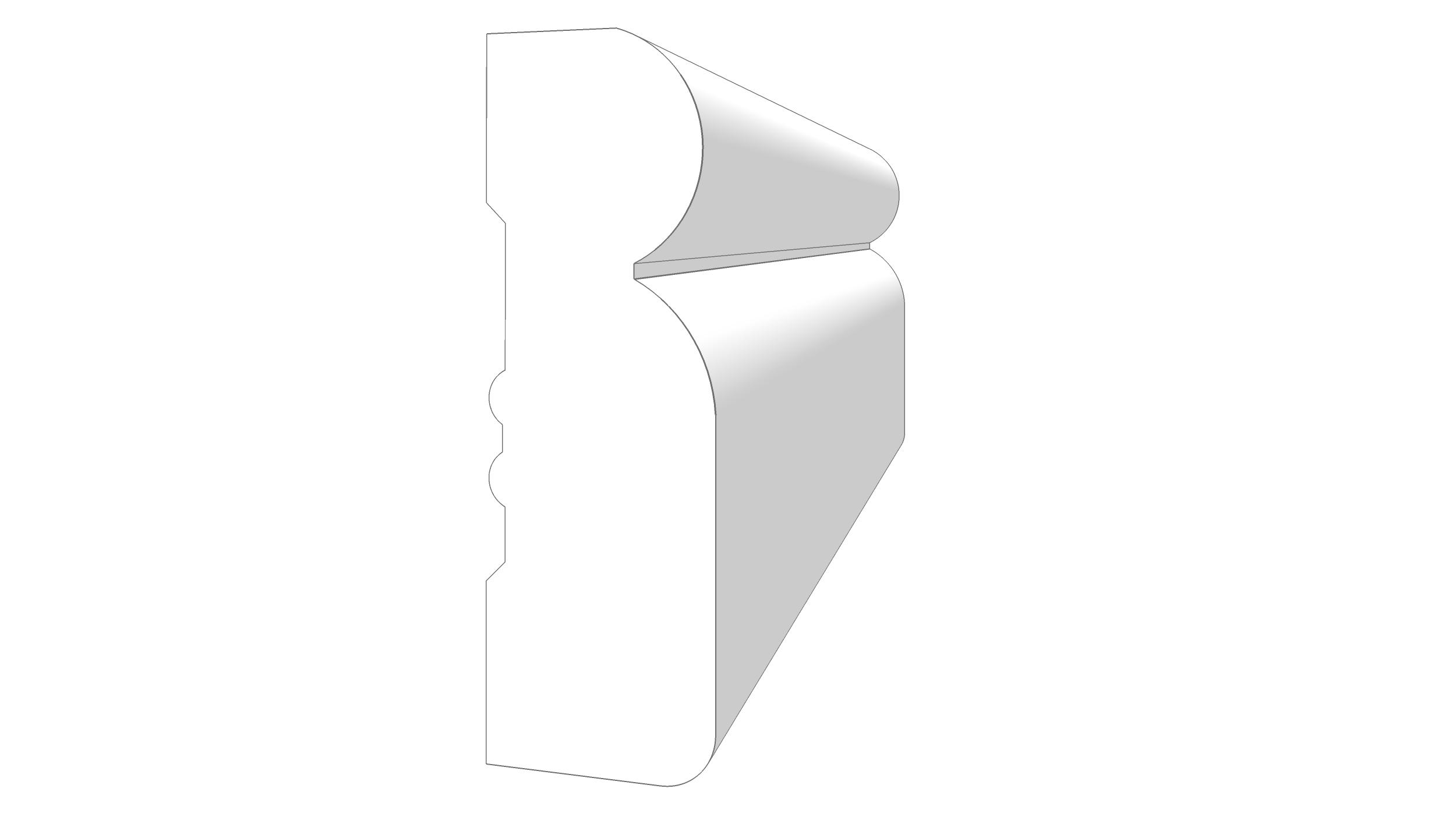 """EM1203 - 2.25""""x.811"""