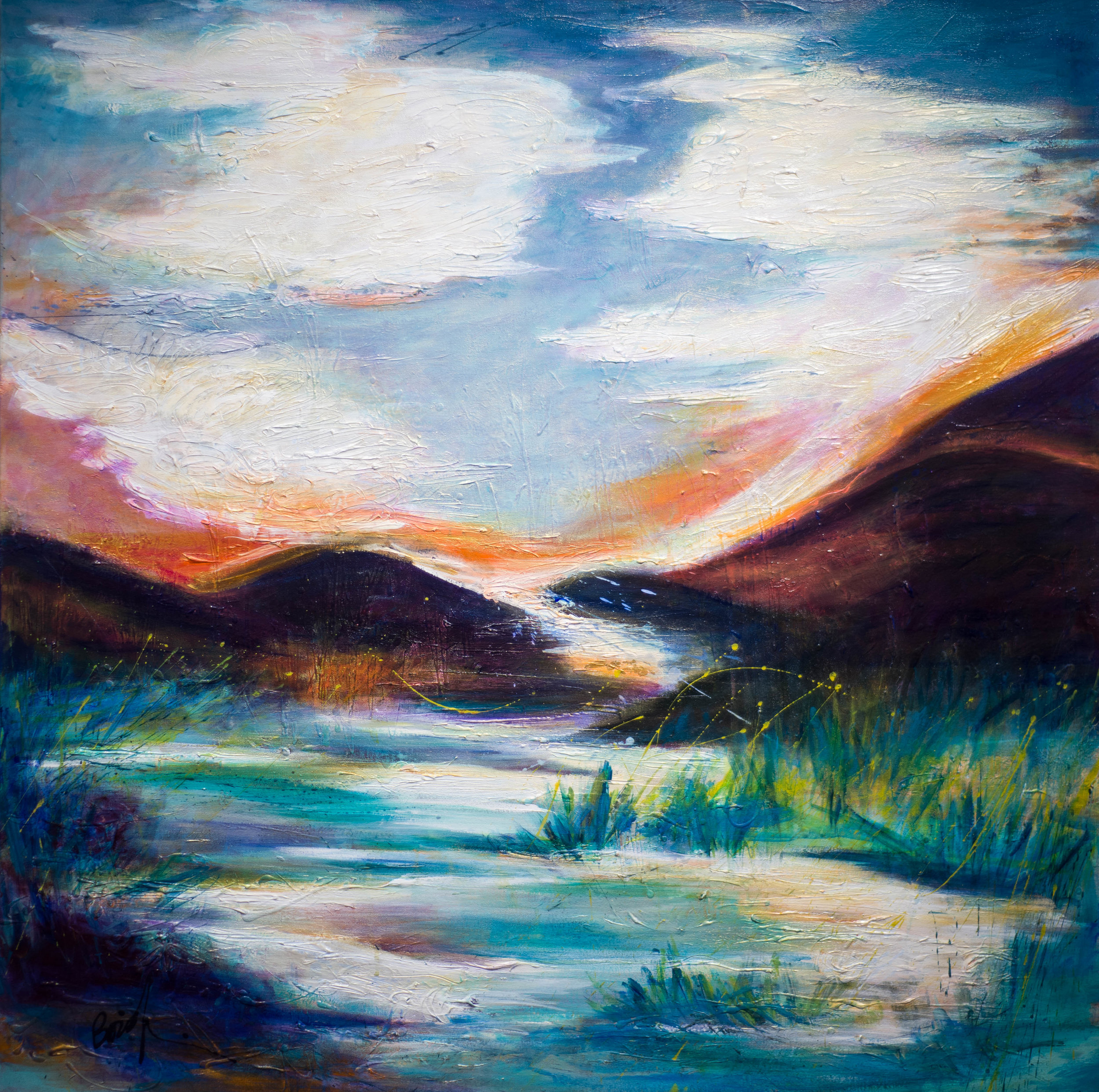 - Magical Mountains (48x48) $5600