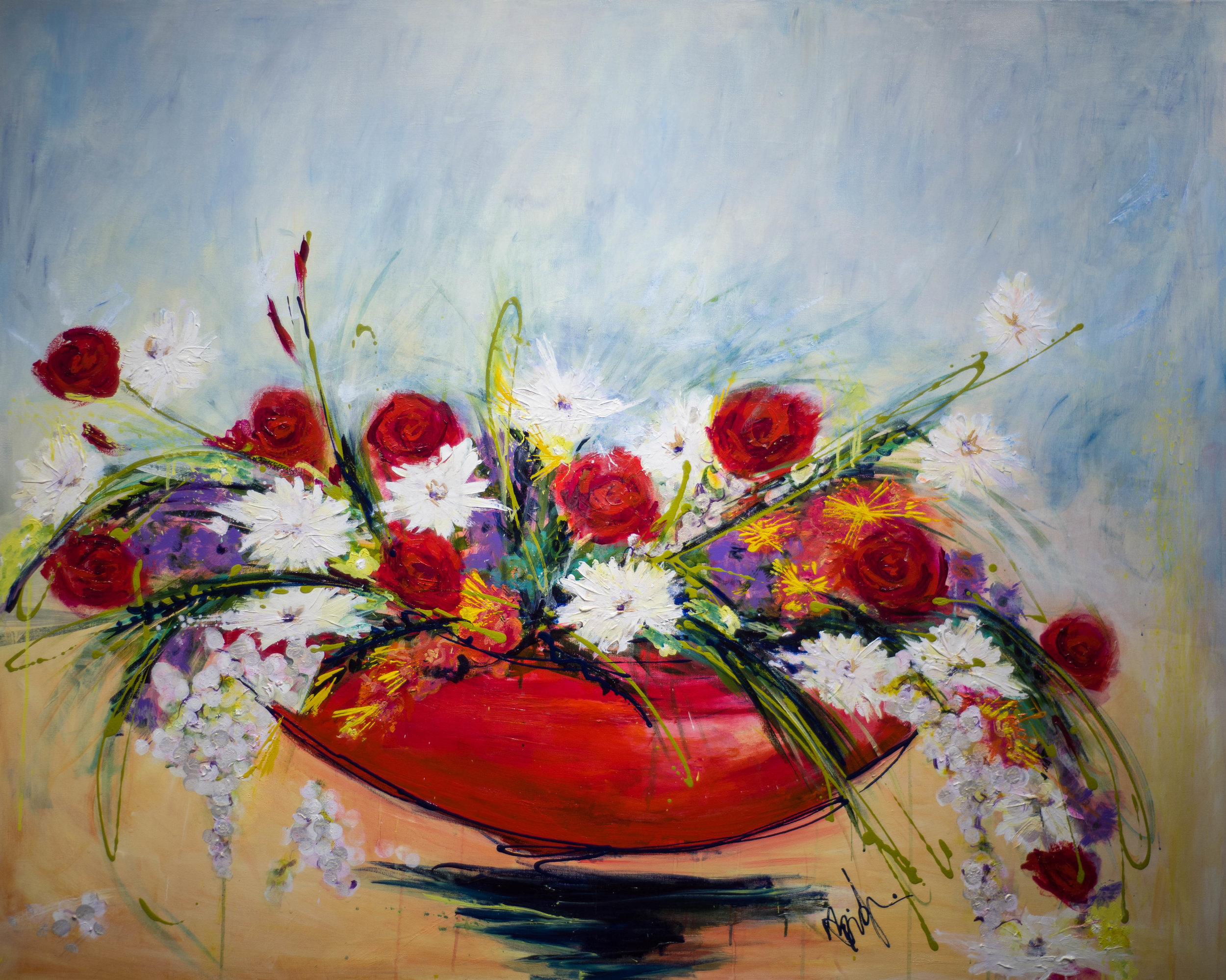 - Deliciously Yours (48X60) $9500