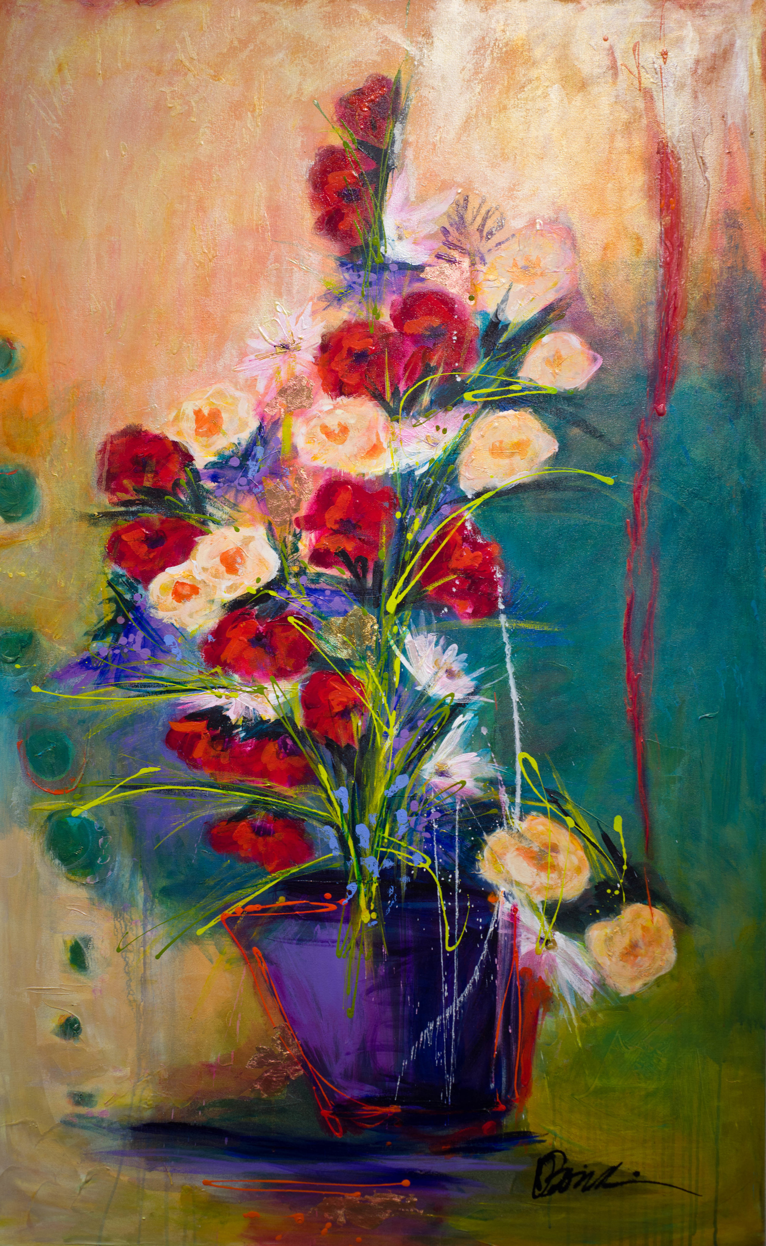 - Red Silk Ribbon (63x39) $7800