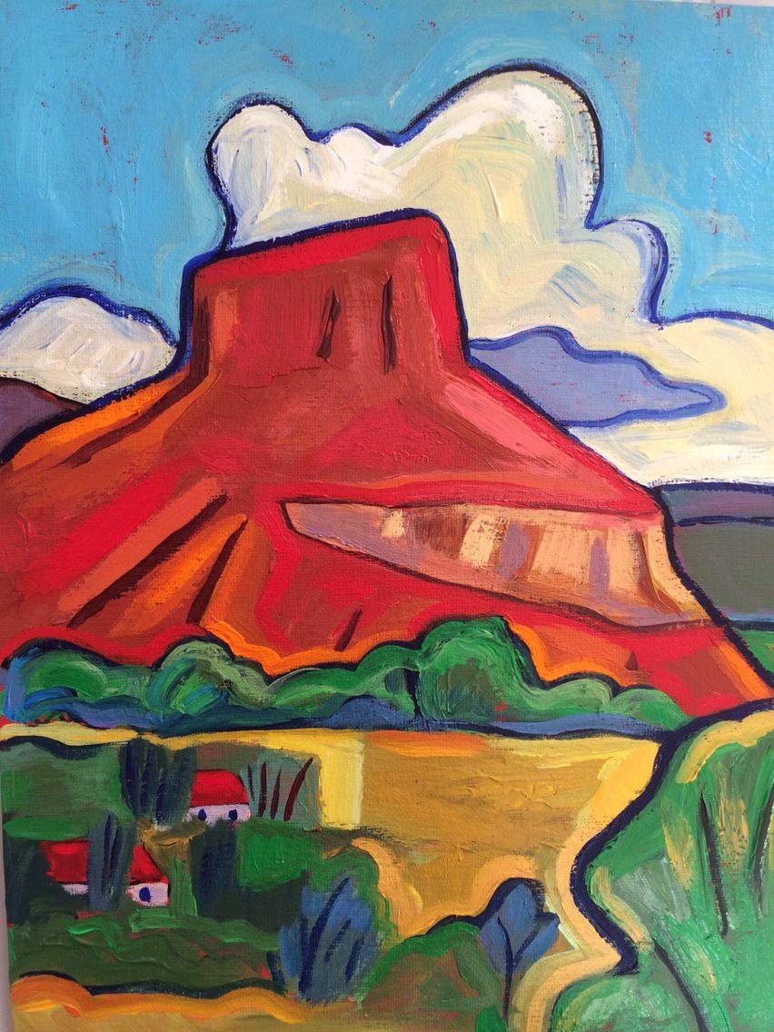 - Copper Mountain Abiquiu (19x16) $950