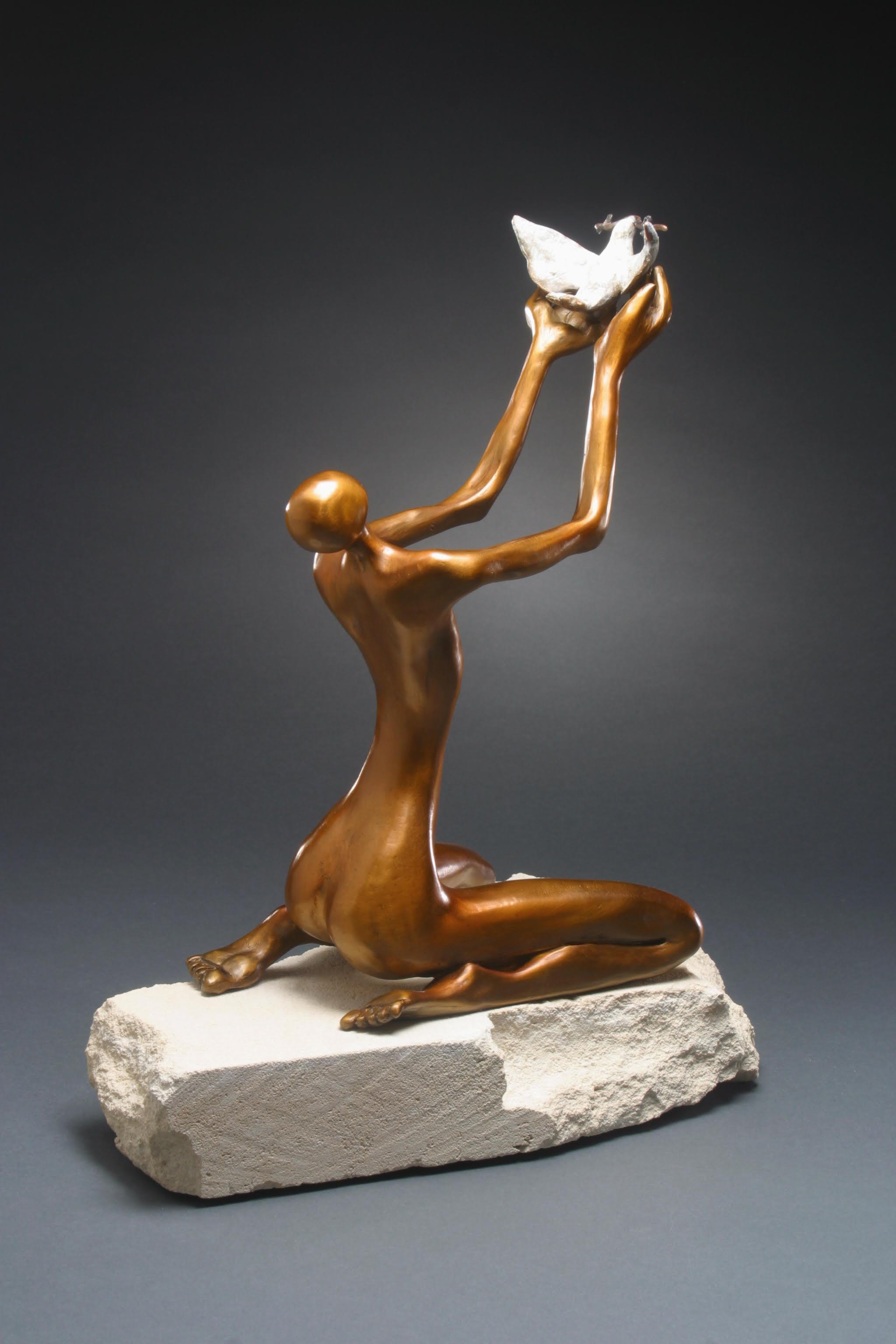 - Offering (15x8x12) Bronze $3200