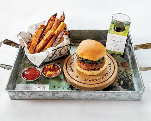 Martha Stewart's Burger and Wine, Receive Complimentary Kale Seeds    EATER // APRIL 8, 2019