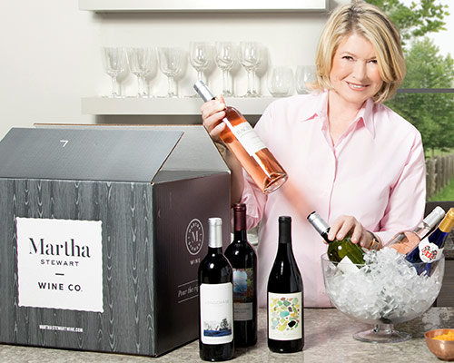 Martha Stewart has a Wine Club, and We're Joining    BRIT+CO // OCTOBER 24, 2017