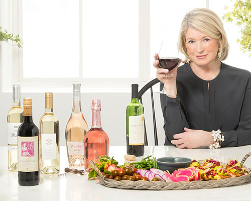 Raise a Glass to the New Martha Stewart Wine Co.    MARTHA STEWART // APRIL 5, 2017