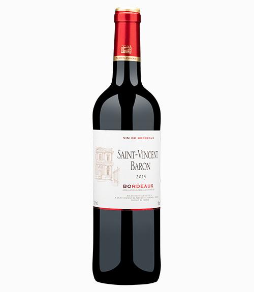 Saint-Vincent Baron Bordeaux Rouge