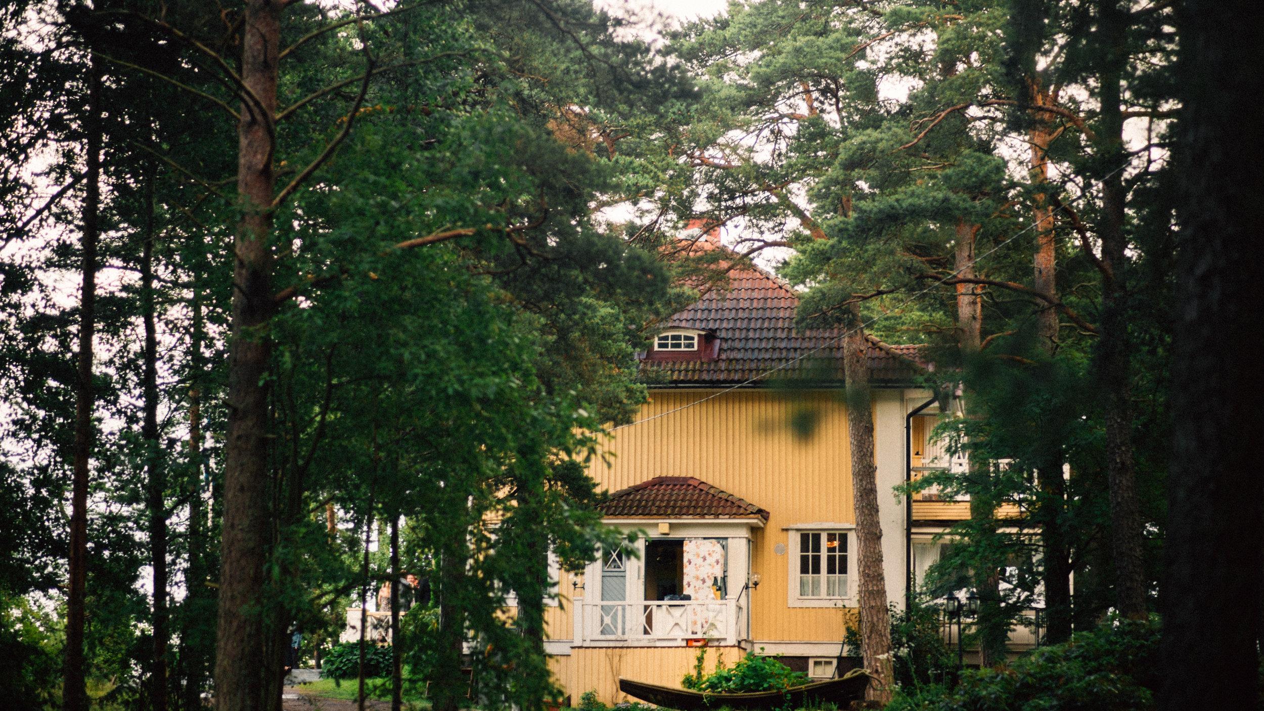 Villa Andania Helsinki wedding videographer