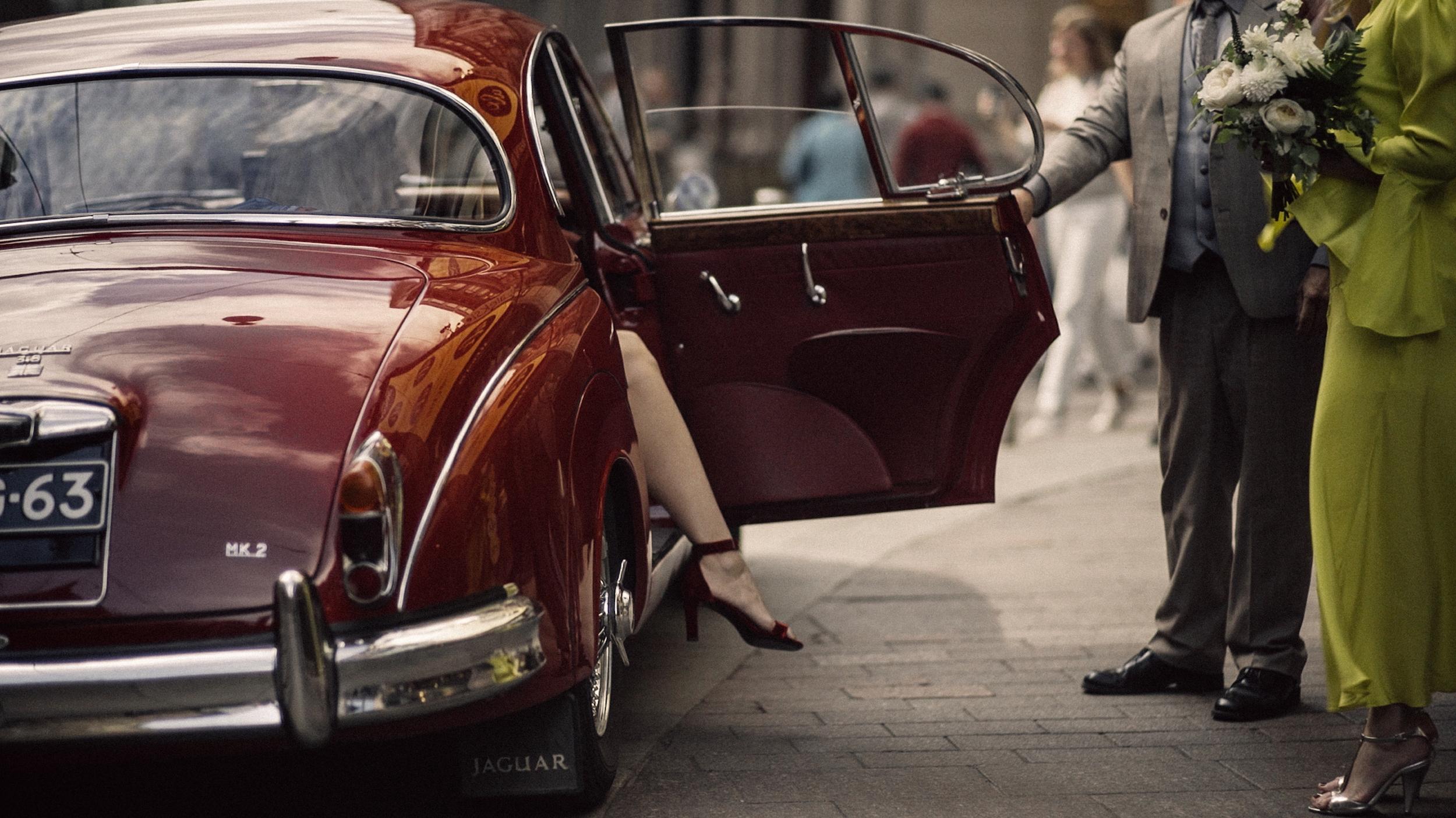 helsinki wedding videographer  red saint Lauren shoes