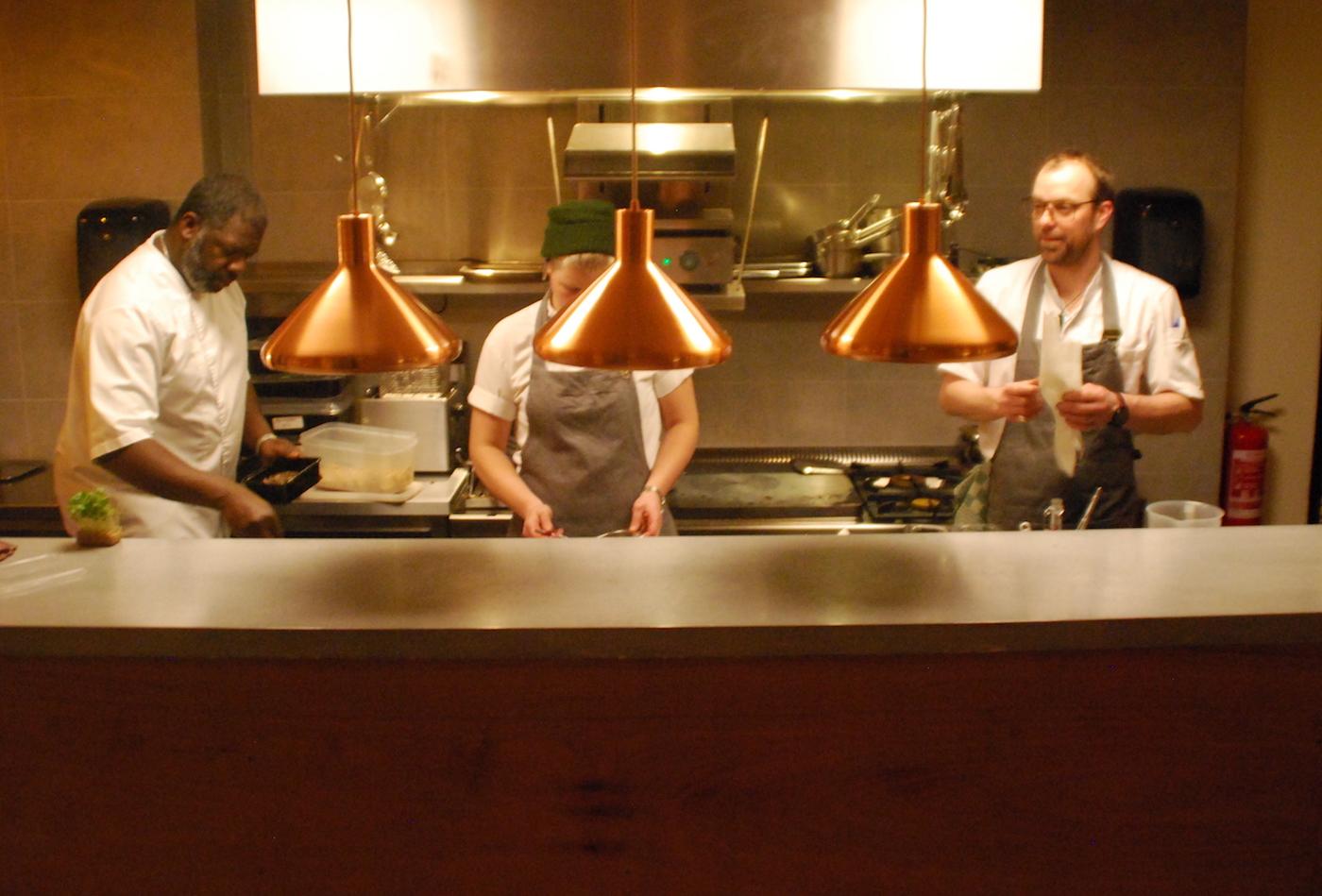 yerba : cooks in the kitchen .JPG