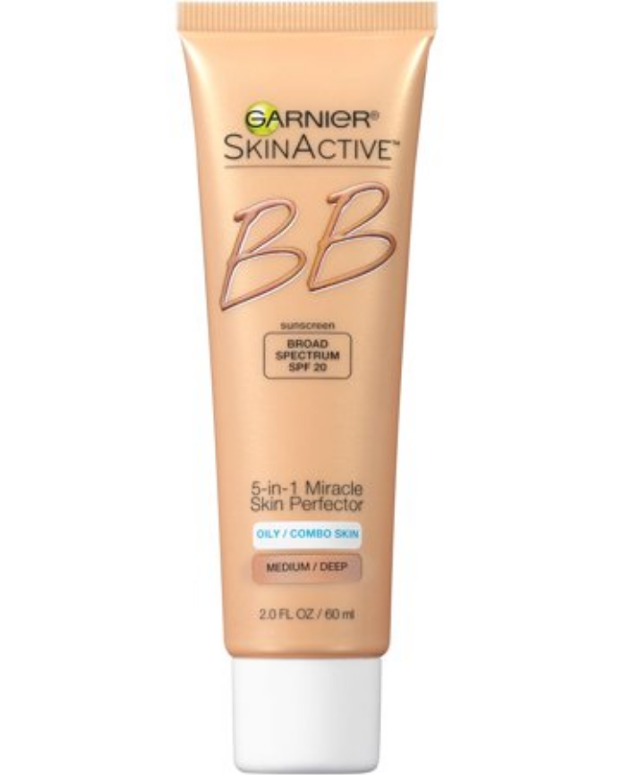Garnier BB Cream - Oily/Combo Skin   This will apply very wet and watery but will dry beautifully.