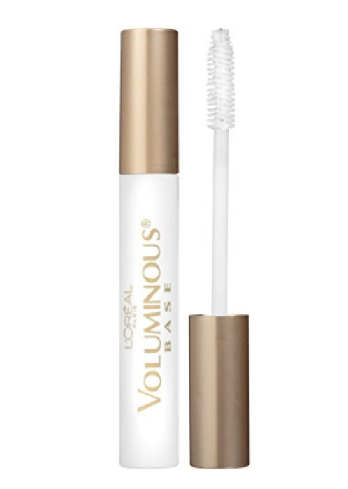 Loreal Voluminous Eyelash Primer  - Apply this 1st to your lashes. Allow them to dry completely. It goes on white but dries clear.